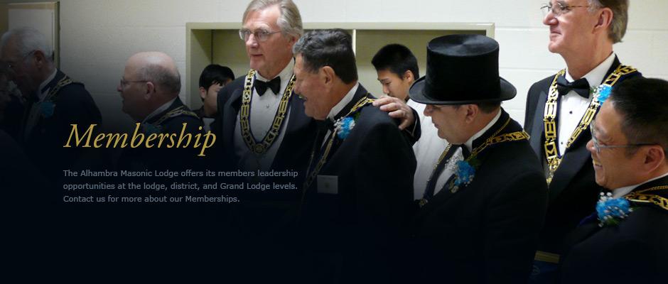 the Alhambra Masonic Lodge no 322 | Free and Accepted Masons